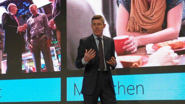 """Christian Illek, Vorsitzender der Geschäftsführung bei Microsoft Deutschland: """"Die Telekom hat in den vergangenen Monaten die technische Infrastruktur für das Angebot geschaffen."""""""