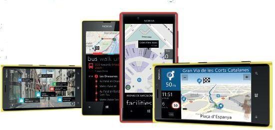 Navigationsdienste auf Smartphones wie Nokia HERE sind bei den Nutzern sehr beliebt.