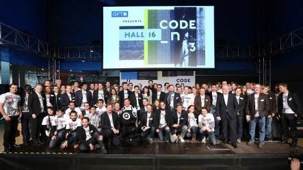 Die Finalisten des diesjährigen Code_n-Wettbewerbs.