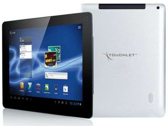 Pearl X10.dual: Android-Tablet mit iPad-2-Optik und Spezifikationen