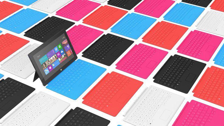Bislang sind Windows-8-Tablets noch kein Marktschlager. Ob ein kleineres Format etwas daran ändert?