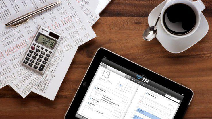 Der EBF.Connector mit AppConnect bietet mobilen Nutzern eine sichere Arbeitsumgebung.