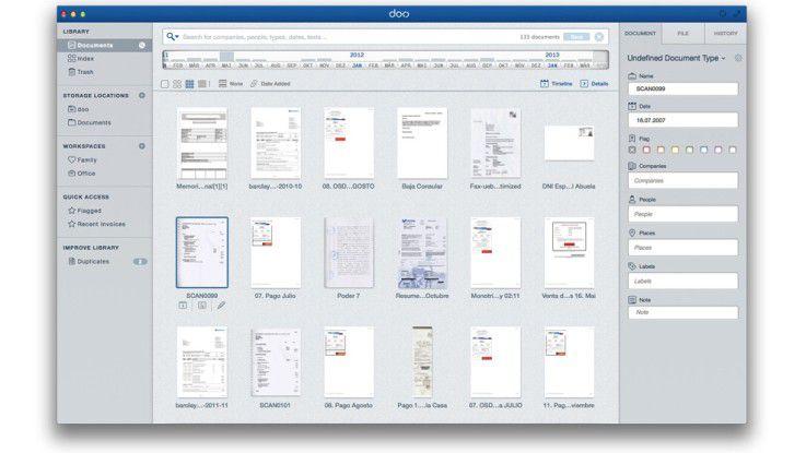 Doo stellt einen universellen Datei-Manager dar.