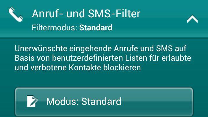 Mobile Sicherheitslösungen auf Smartphones können nicht nur zur Malware-Erkennung, sondern auch zur Blockade von SMS unbekannter Absender genutzt werden.