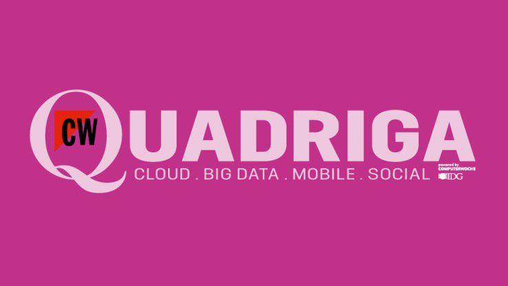 Ab sofort ist die neue COMPUTERWOCHE QUADRIGA als Heft und als iPad-Ausgabe erhältlich.