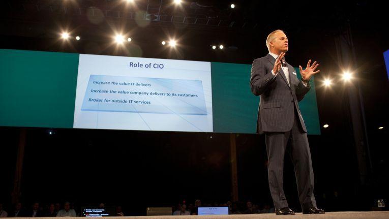 Mike Gregoire, der neue CEO von CA, gibt die Keynote auf der CA World. Zu seinen Themen gehört auch der Wandel in der Rolle des CIOs.