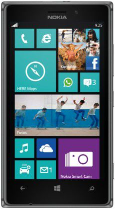 Mit einer verbesserten Kamera soll das neue Nokia-Flaggschiff Lumia 925 bei den Kunden punkten.