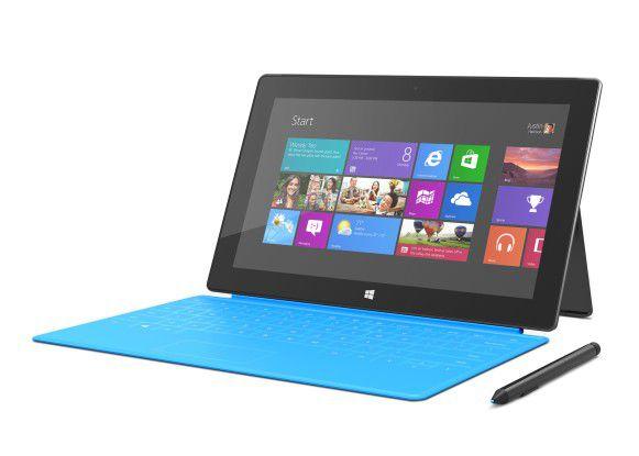 Das Surface Pro mit Windows 8 kam erst Monate nach der abgespeckten RT-Variante auf den Markt.