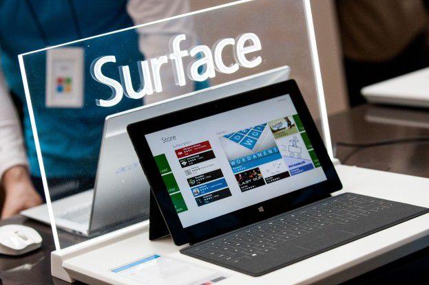 Verspekuliert: Das ARM-Tablet Surface RT stößt auf wenig Nachfrage.