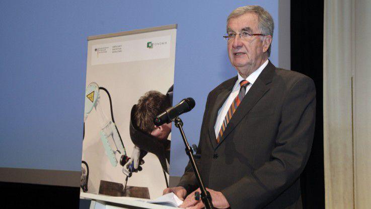 Ernst Burgbacher, parlamentarischer Staatssekretär im Bundesministerium für Wirtschaft und Technologie.