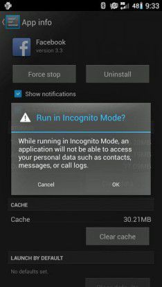 Inkognito-Modus für CyanogenMod