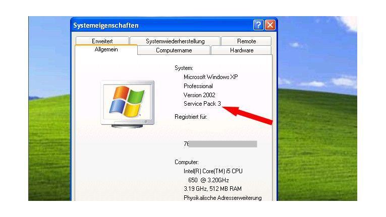 Die letzte XP-Version aller Zeiten: Windows XP mit Service Pack 3.