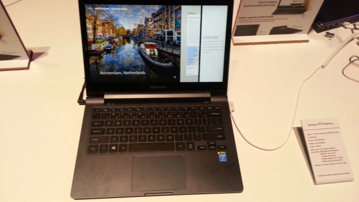 Neues Ultrabook mit Touchscreen: Ativ Book 9+