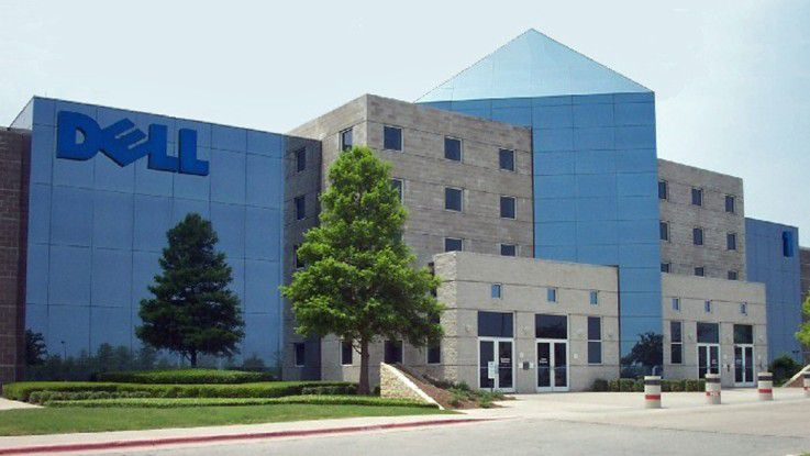 Dell und Speicher-Firma EMC sprechen über Fusion