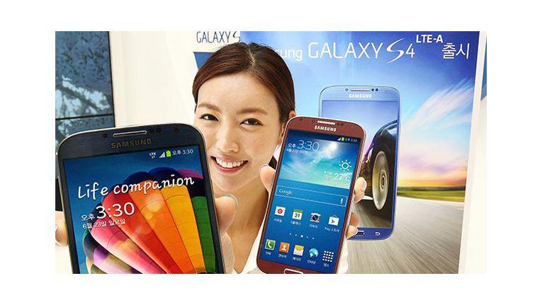 Das aktuelle Smartphone-Flaggschiff von Samsung: Galaxy S4 LTE-A
