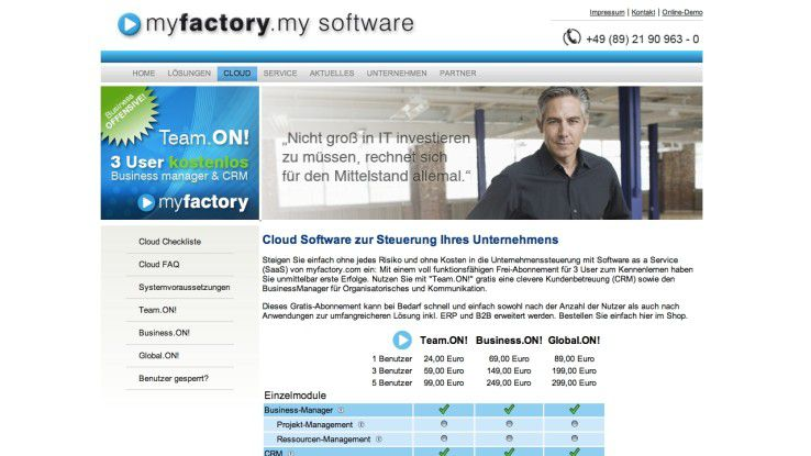 MyFactory Cloud