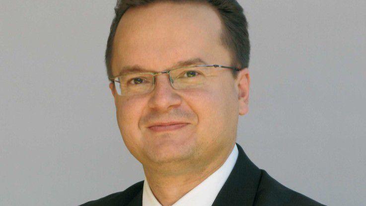 Andreas Wiesinger von der Messe Stuttgart erwartet rund 10.000 Besucher auf den drei Fachmessen.