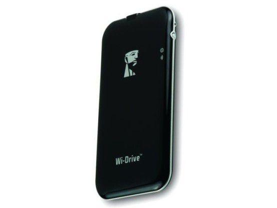 WLAN-Festplatte im Test: Kingston Wi-Drive 128GB