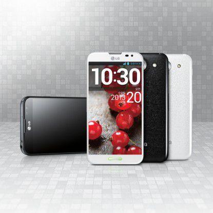 LG platziert das Optimus Pro als direkten Konkurrenten des Galaxy Note von Samsung.