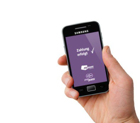 Die mpass-App soll mobiles Bezahlen massentauglich machen.