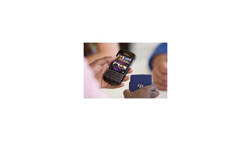 Schwer zu ersetzen, ohne die Sicherheitsstandards herunterzufahren: Blackberry