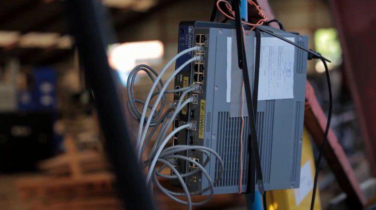 Strukturierte Verkabelung mit VLAN und MPLS - so sicher in keinem Lehrbuch zu finden.