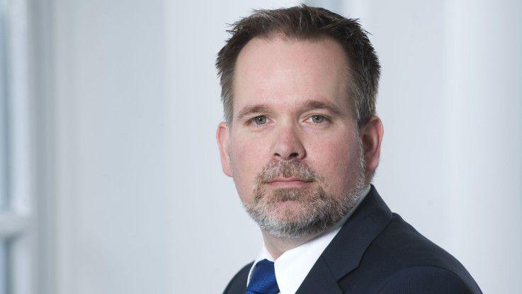 Manchmal entscheidet das Bauchgefühl, sagt Haniel-CIO Dirk Müller.