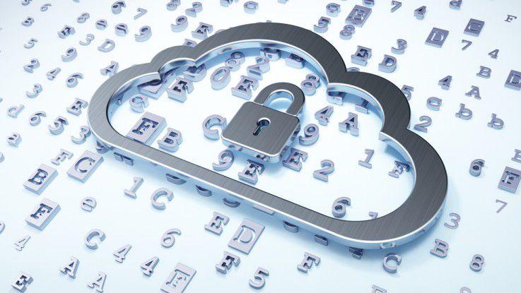 Der Schutz der Daten in der Cloud.
