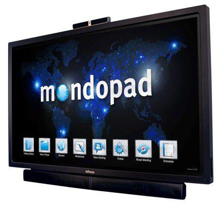 Mit dem Mondopad will InFocus in Sachen Videoconferencing neue Wege beschreiten.