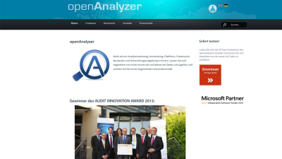 Big Data 2013 - hfp openAnalyzer: Analyse-Apps für alle Big-Data-Fragen