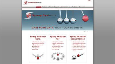 Big Data 2013 - Synop Analyzer: Interaktive Datenanalyse für agiles Data-Mining und Mustersuche