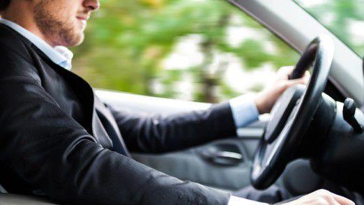 Mitarbeiter fahren lieber mit dem Dienstwagen als mit dem Privatauto.