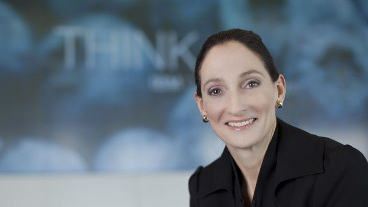 """Susan Volkmann, IBM: """"Wir sehen eine Verschiebung der Budgets aus der IT Richtung Fachabteilung."""""""