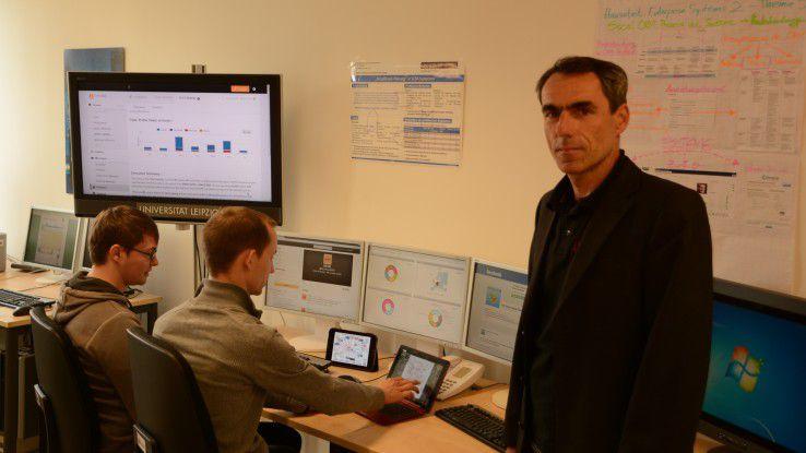 Rainer Alt forscht mit seinen Studenten an neuen Wegen, datenschutzkonforme Social-CRM-Kampagnen umzusetzen.