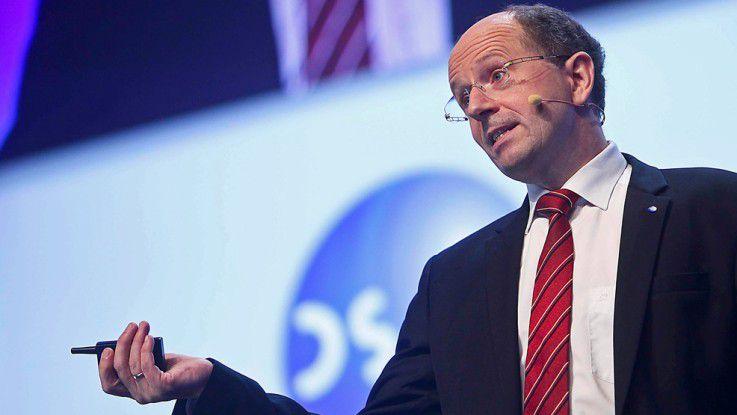 Der DSAG-Vorstandsvorsitzende Marco Lenck mahnte bei SAP Nachbesserungen in der Integration von Cloud- mit On-Premise-Anwendungen an.