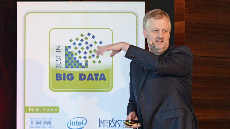 Vorjahressieger Klaas Bollhöfer fordert neue Interfaces zwischen Daten und Menschen.