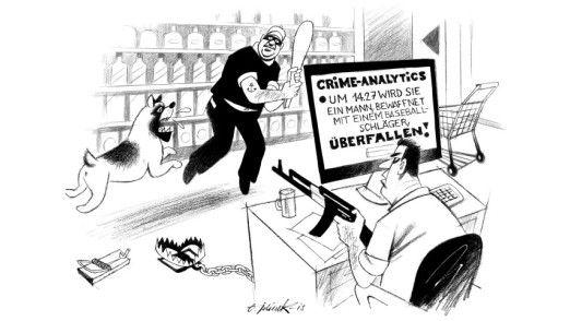 Kommt mit Predictive Policing als eine Form der Predictive Analytics die Vorhersage von Straftaten?