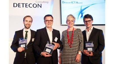Big Data, Cloud: VMS und Fabasoft gewinnen Detecon ICT Awards 2013 - Foto: Detecon/Dieter Friese, Fotoagentur Friese