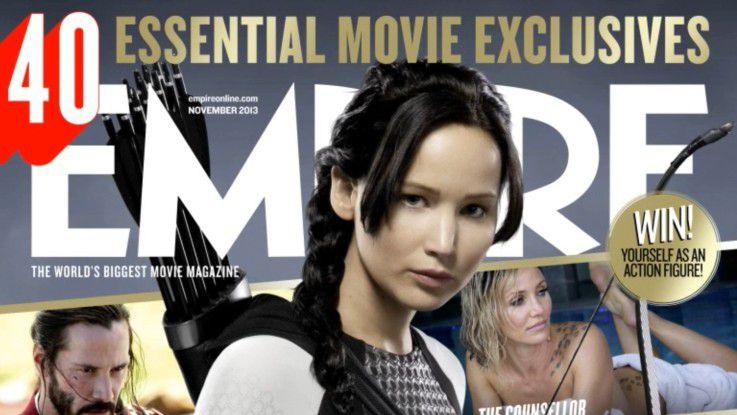 """Die britische Filmzeitschrift """"Empire"""" animierte Titelbilder zur Einstimmung aufs Heft ein."""