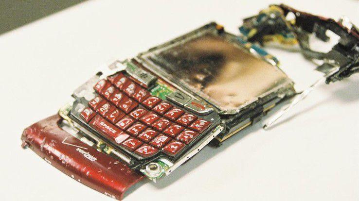 Unternehmen machen sich bei Blackberry weniger über die Zukunft der Geräte als die der Infrastruktur und des Supports sorgen.