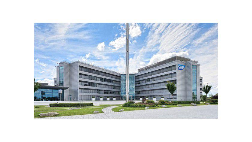 Zentrale von SAP in Walldorf bei Heidelberg