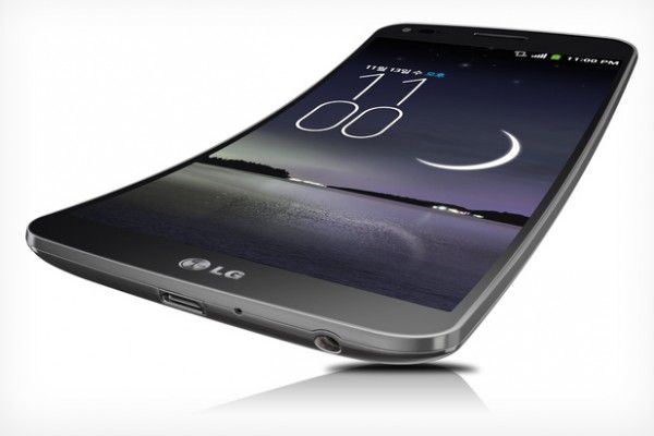 Smartphone mit krummen Display: LG G Flex