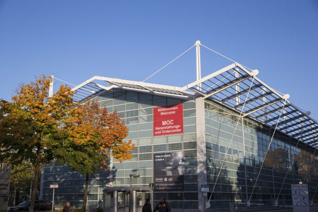Das MOC im Norden Münchens ist auch dieses Jahr Austragungsort der Communications World