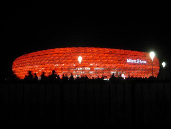 Noch ist die Vernetzung der Allianz Arena für mobile Nutzer Zukunftsvision für den FC Bayern.