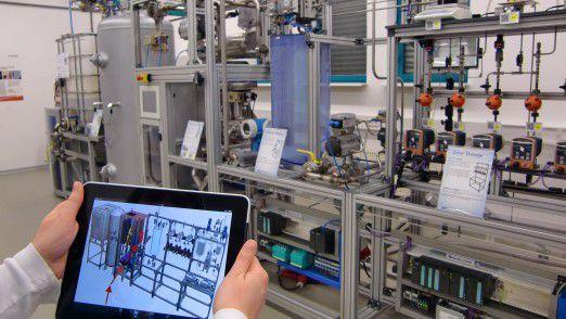 In der Smart Factory testet das DFKI Anwendungen für die digitale Fabrik der Zukunft.