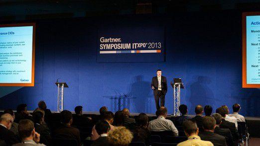 Eine Vielzahl an Vorträgen klärt über neueste Technologietrends auf – und über die künftige Rolle des CIO.