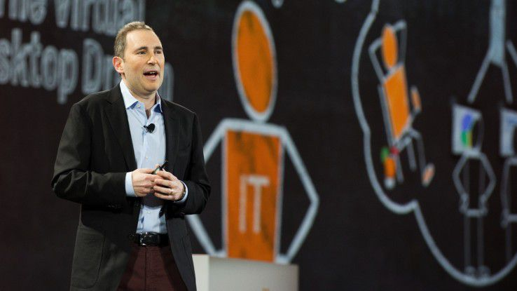 Andy Jassy, AWS Amazon