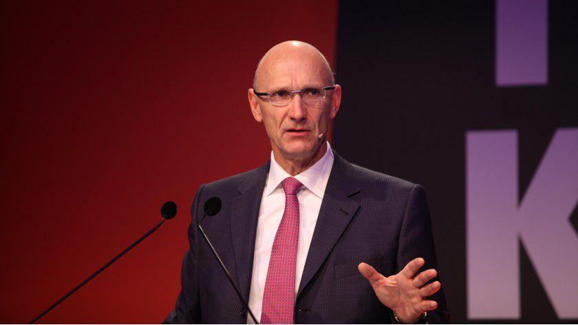 """Telekom-Chef Tim Höttges: """"Für unsere Privatnutzer in Deutschland haben wir das nationale Routing bereits umgesetzt."""""""