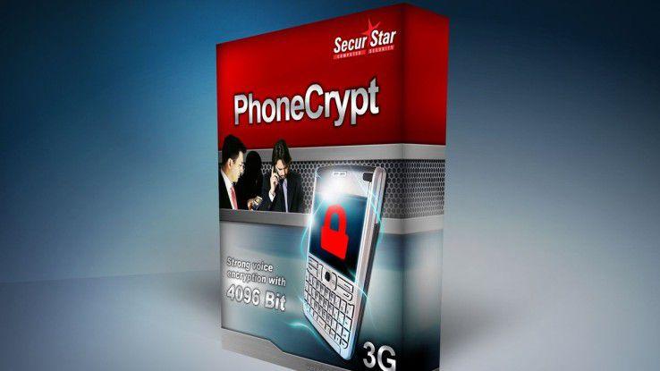Bei mobilen Endgeräten sollten nicht nur die gespeicherten Daten, sondern auch die vertraulichen Telefonate verschlüsselt werden, zum Beispiel mit PhoneCrypt.