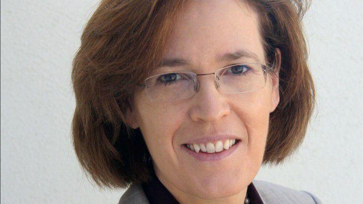 """""""Wir brauchen jede Frau in der IT."""" Christiane Vorspel, CIO der Commerzbank."""